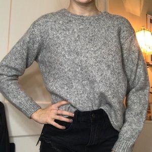 Brandy Melville Soft Gray Sweater